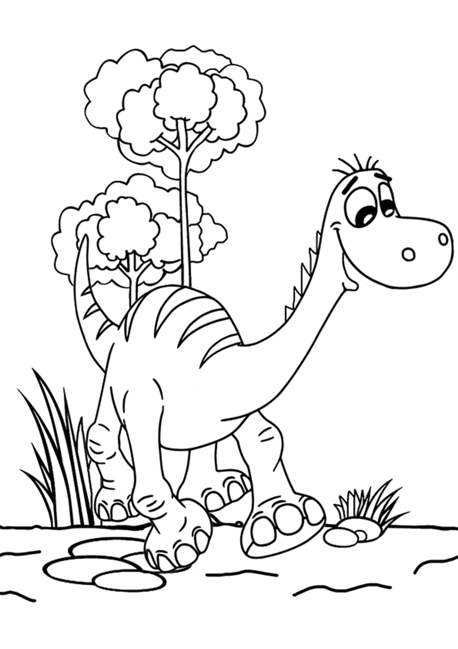 Dinosaure cartoon